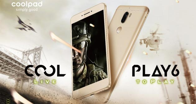 Coolpad Cool Play 6 e Cool M7 ufficiali