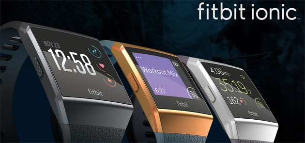 Fitbit Ionic, primo smartwatch Fitbit