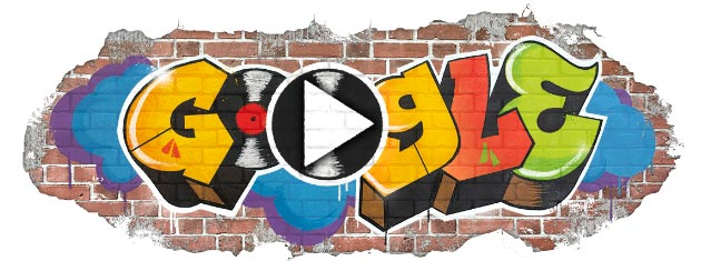 Google Doodle, 44 anni di Hip Hop