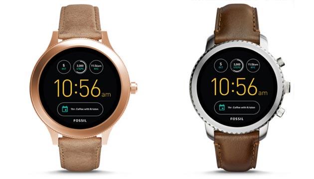 Fossil Q Venture e Q Explorist, smartwatch Android Wear 2 in Italia da 279 euro
