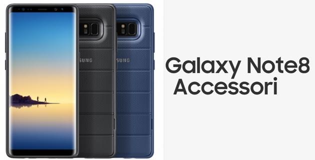 Samsung Galaxy Note8, gli accessori ufficiali