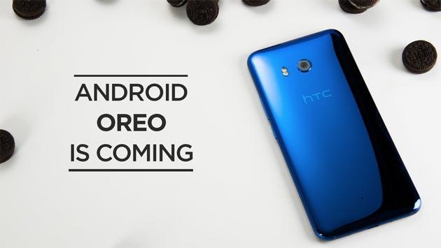 HTC U11, HTC U Ultra e HTC 10 riceveranno Android 8.0 Oreo