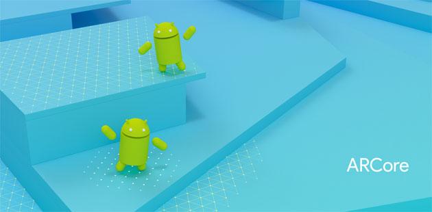 Google ARCore porta la Realta Aumentata sui dispositivi Android