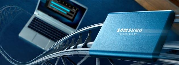 Samsung SSD T5, unita' portatile con tecnologia V-NAND