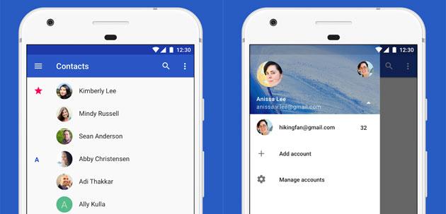 Google Contatti disponibile per tutti i dispositivi Android Lollipop e versioni successive