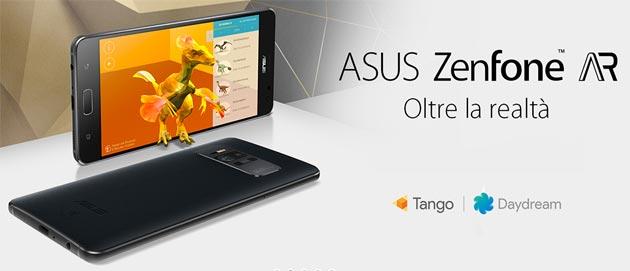 Asus ZenFone AR con Google Daydream e Tango in Italia