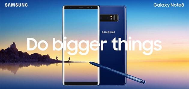 Samsung Galaxy Note8 ufficiale: Specifiche, Caratteristiche, Immagini, Video e Prezzi