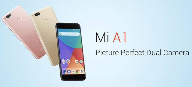 Xiaomi Mi A1 ufficiale con Android One stock