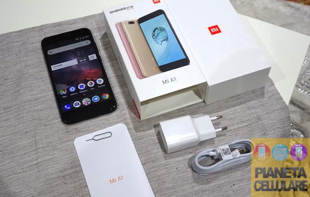 Unboxing Xiaomi Mi A1 e prime impressioni
