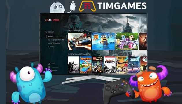 TIMGames come funziona e quanto costa