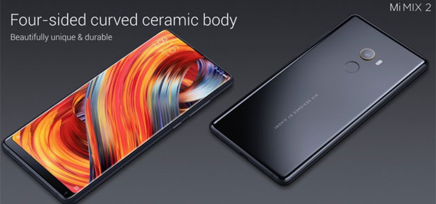 Xiaomi Mi Mix 2 in Italia: Specifiche, Foto, Video e Prezzi