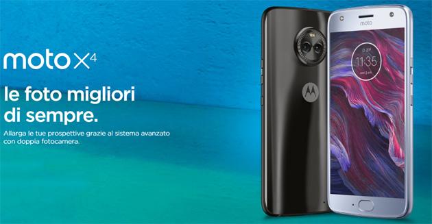 Motorola Moto X4 con doppia fotocamera anche in versione Android One