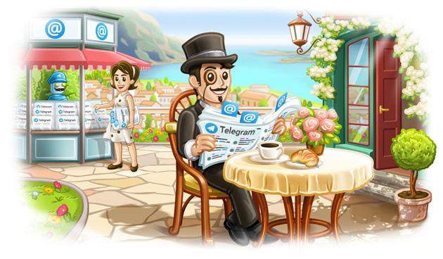 Telegram migliora Risposte, Adesivi e Inviti
