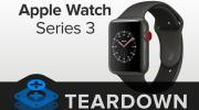 Foto Apple Watch Series 3, teardown rivela piccoli cambiamenti