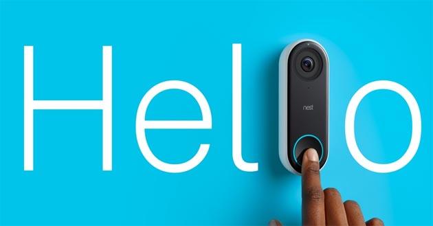 Nest Hello, campanello con videocamera disponibile in Italia
