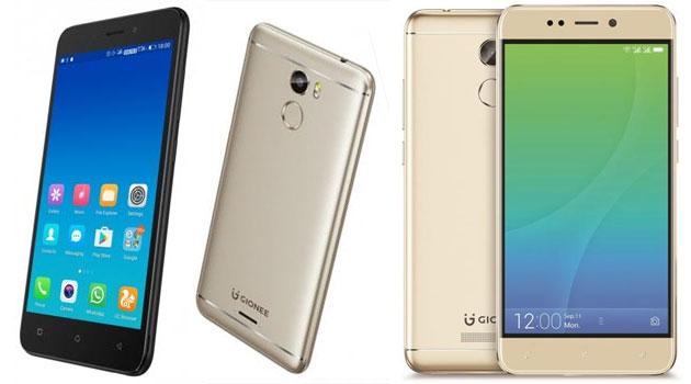 Gionee X1 e X1s, smartphone Android 7 Nougat con display HD e CPU quad-core