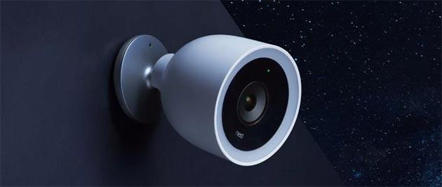 Nest Cam IQ Outdoor per esterni con sensore 4k