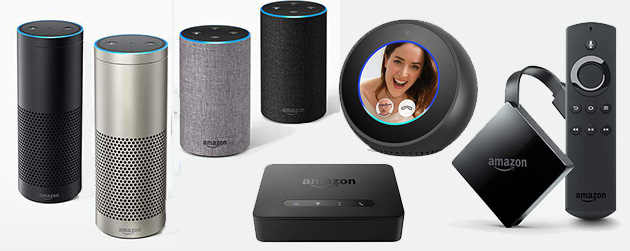 Amazon Echo 2017, Echo Plus, Connect, Buttons e Fire TV con 4K, HDR e Alexa i nuovi prodotti Amazon