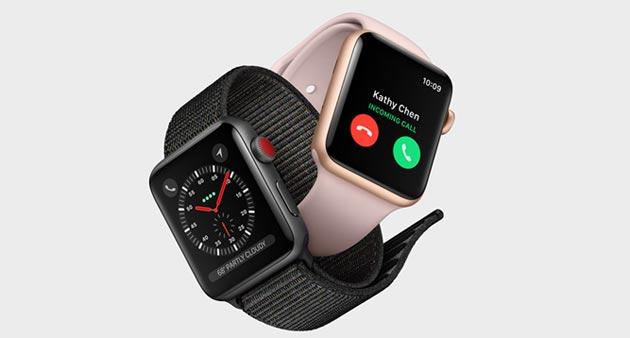Apple Watch 3, quattro su cinque preordini sono il modello LTE