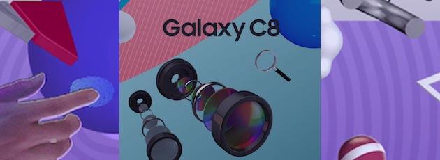 Samsung Galaxy C8, confermata la doppia fotocamera