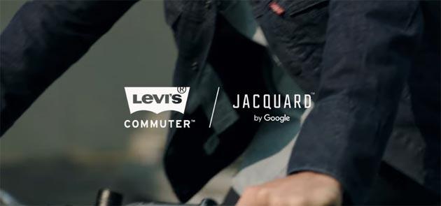 Levi lancia la giacca intelligente Commuter Trucker con Jacquard di Google