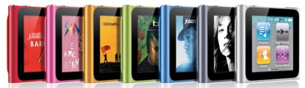 Apple iPod Nano 6a generazione, termina servizio assistenza e riparazione
