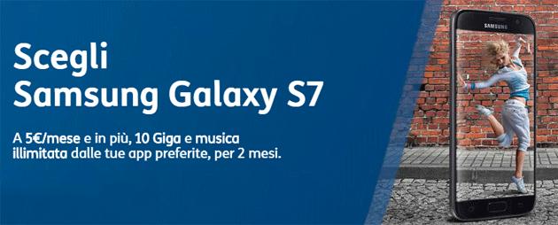 TIM, smartphone da 5 euro al mese tra Samsung Galaxy S7, LG Q6, Huawei P10