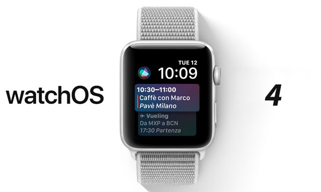 Foto Apple Watch, come aggiornare a WatchOS 5