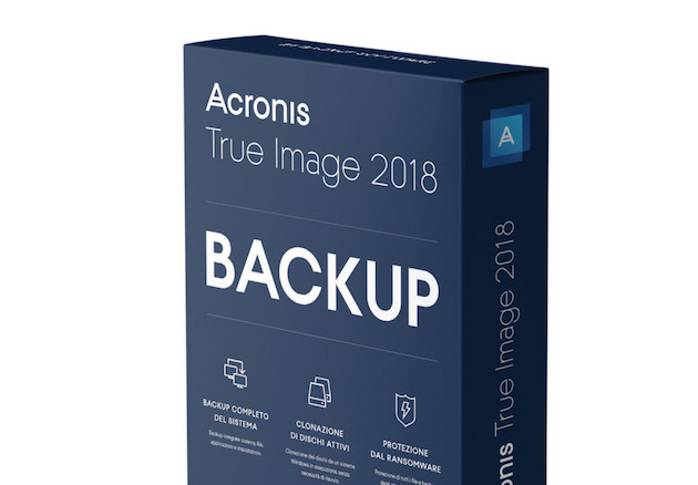 Foto Acronis True Image 2018, ransomware combattuti con intelligenza artificiale