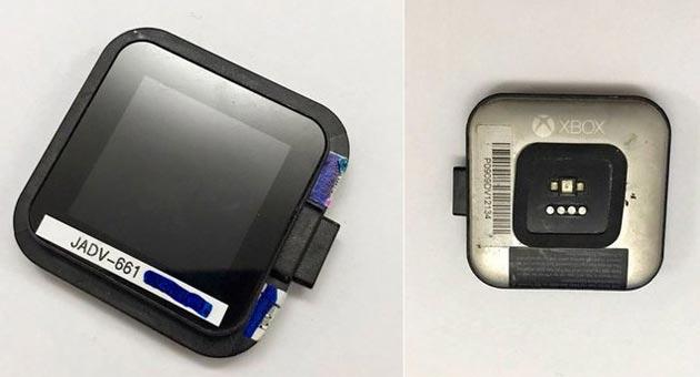 Smartwatch Xbox, foto del progetto abbandonato