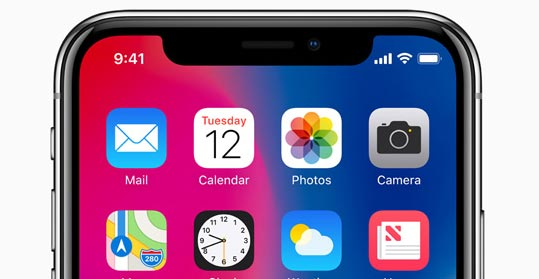 Foto Apple iPhone X vende molto bene in UK, Giappone e Cina