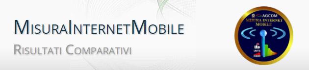 Misura Internet Mobile, mappa delle velocita' offerte dagli operatori telefonici italiani