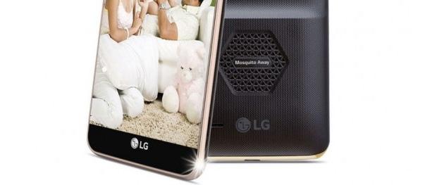 LG K7i, smartphone con anti-zanzare integrato