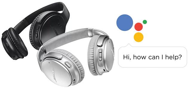 Google porta il suo Assistente nelle cuffie a partire dalle Bose QuietComfort 35 II