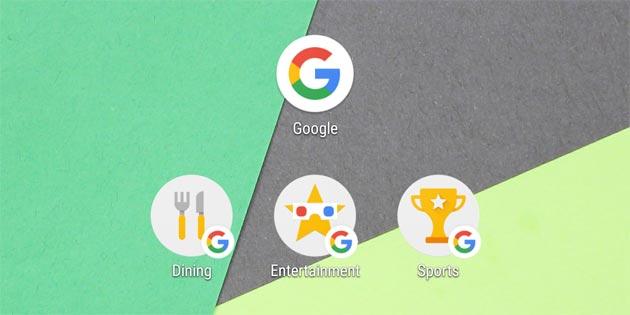 Google app introduce scorciatoie per entrare nelle sezioni direttamente dalla Home Screen