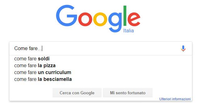 Come Fare... le ricerche piu' popolari su Google