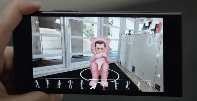 Sony Creazione 3D, app per creare avatar 3D partendo da una foto