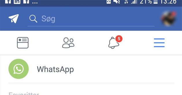 Facebook testa pulsanti WhatsApp e Instagram in-app come scorciatoia