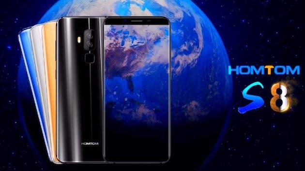 HomTom S8 in sconto, quasi un clone del Galaxy S8