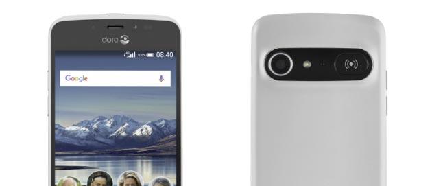 Doro 8040, smartphone Android 7 semplificato per utenti senior