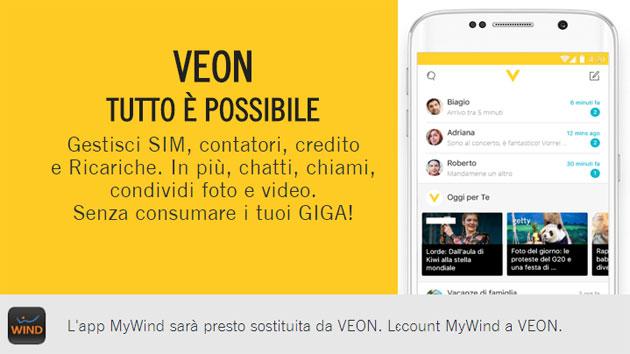 Veon di Wind regala 1 Giga di internet fino al 18 Febbraio: scopri la promozione