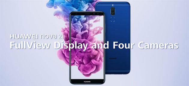 Huawei Nova 2i (Maimang 6) ufficiale con quattro fotocamere e display 18:9