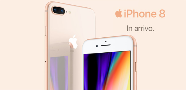 Apple iPhone 8 e iPhone 8 Plus in Italia da 839 euro e a rate con TIM, Vodafone, 3 e Wind: prezzi a confronto