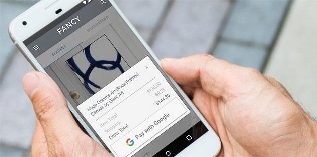 Pay with Google semplifica i pagamenti su web e app Android
