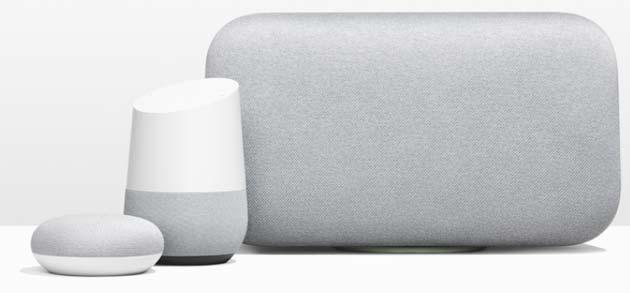 Google Home Mini e Home Max ufficiali