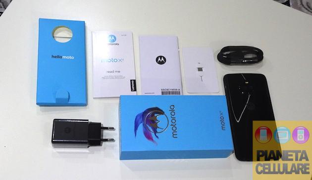 Unboxing Motorola Moto X4 e prime impressioni