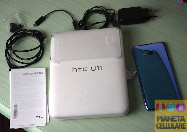 Recensione HTC U11, Top Android che stupisce