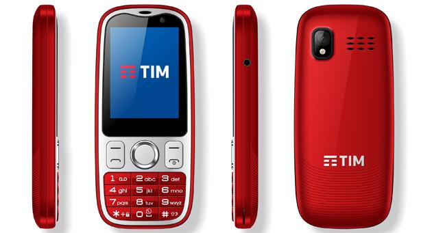 TIM Easy 4G telefono semplice con Whatsapp e tastiera fisica per non esperti di tecnologia