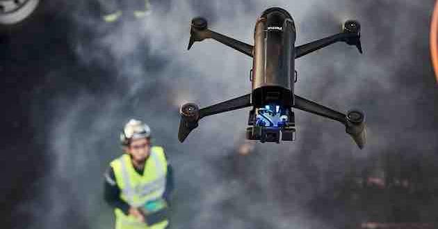 Parrot amplia la famiglia di droni con Bebop-Pro Thermal e Parrot Bluegrass