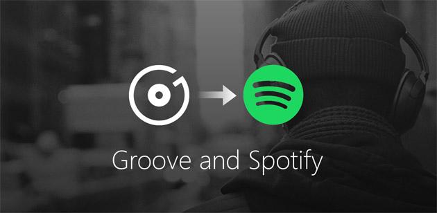 Microsoft termina app Groove Musica per Android e iOS dopo aver chiuso Groove Music Pass consigliando di passare a Spotify